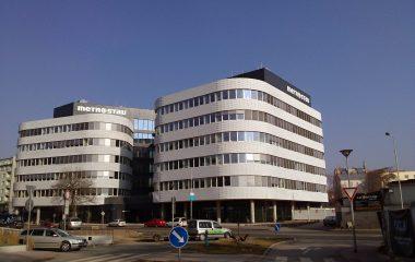 Nová administrativní budova společnosti Metrostav v Praze